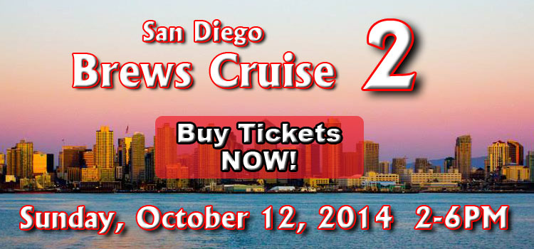 Brews Cruise Ticket Banner